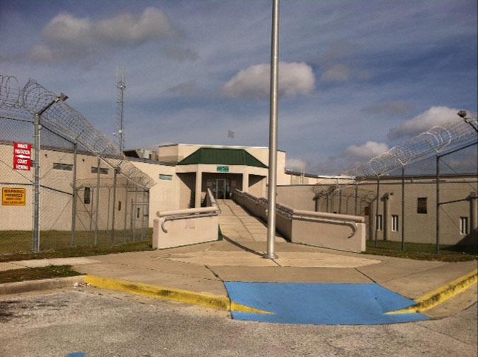 Brevard Jail Entrance